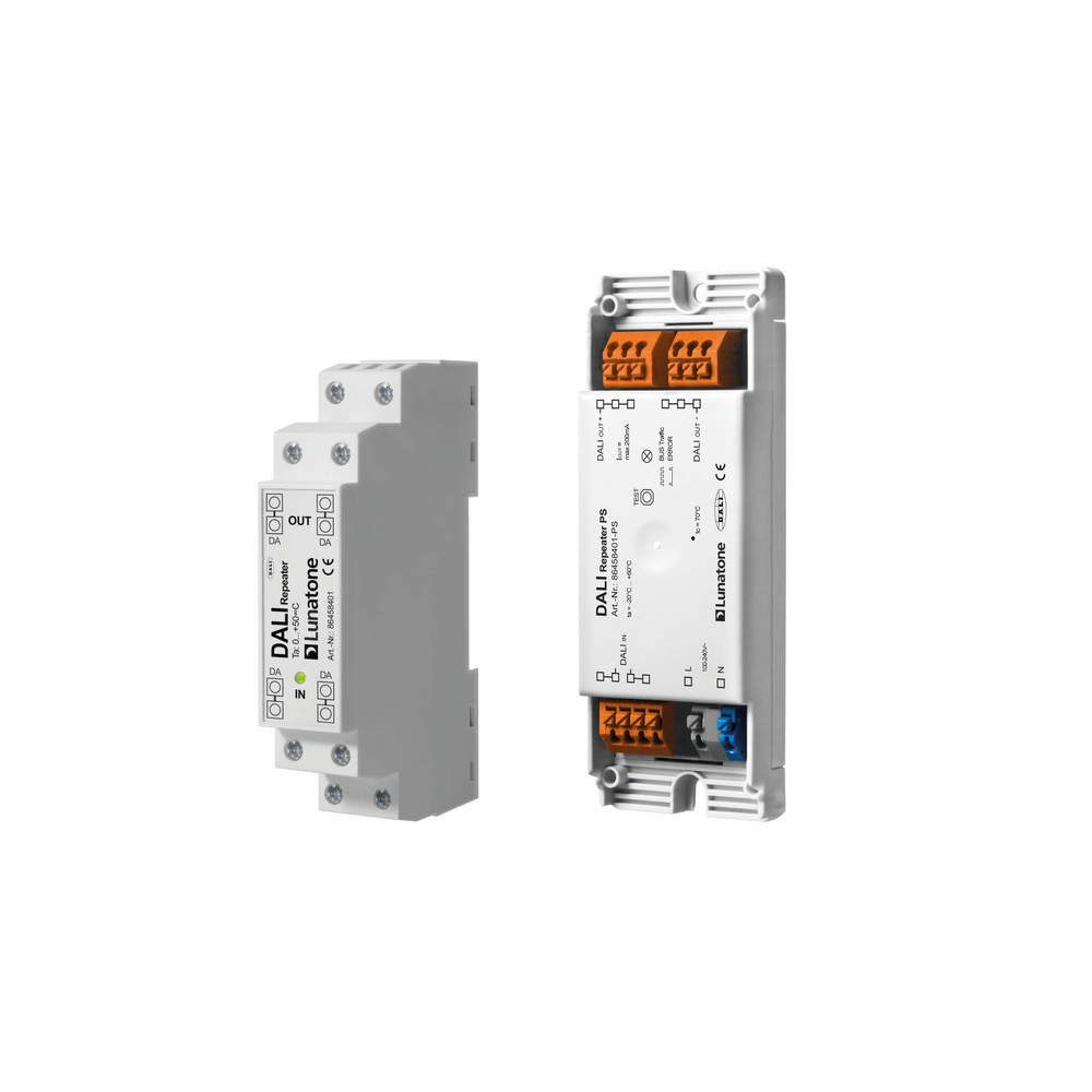 transceiver for DALI line extension, 1 x DALI PS 200mA, remote housing
