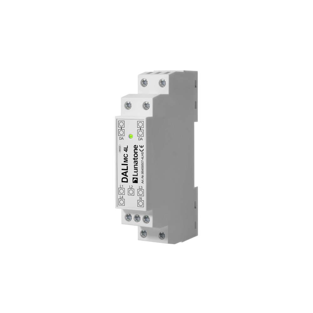 DaLI taster koppelaar MC-4L DIN Rail
