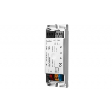 DALI  Led Dimmer 4 kanaals CC 350mA gem-
