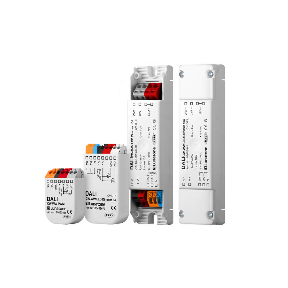 DALI Led Dimmer CW-WW PWM 10A DT8