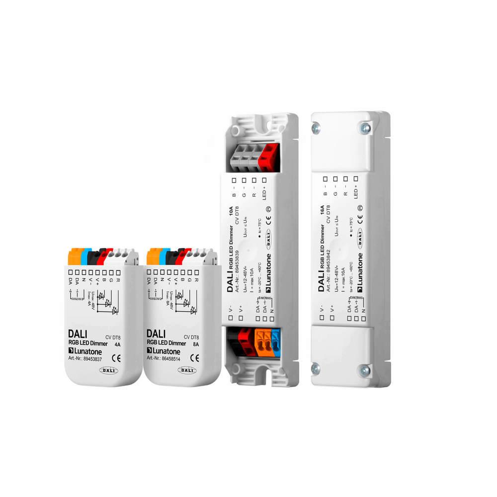 DALI RGB LED Dimmer CV DT8 4A