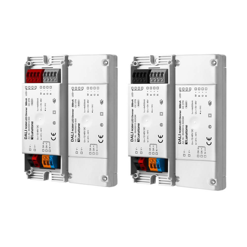 DALI RGBW LED-dimmer CC DT8 100mA