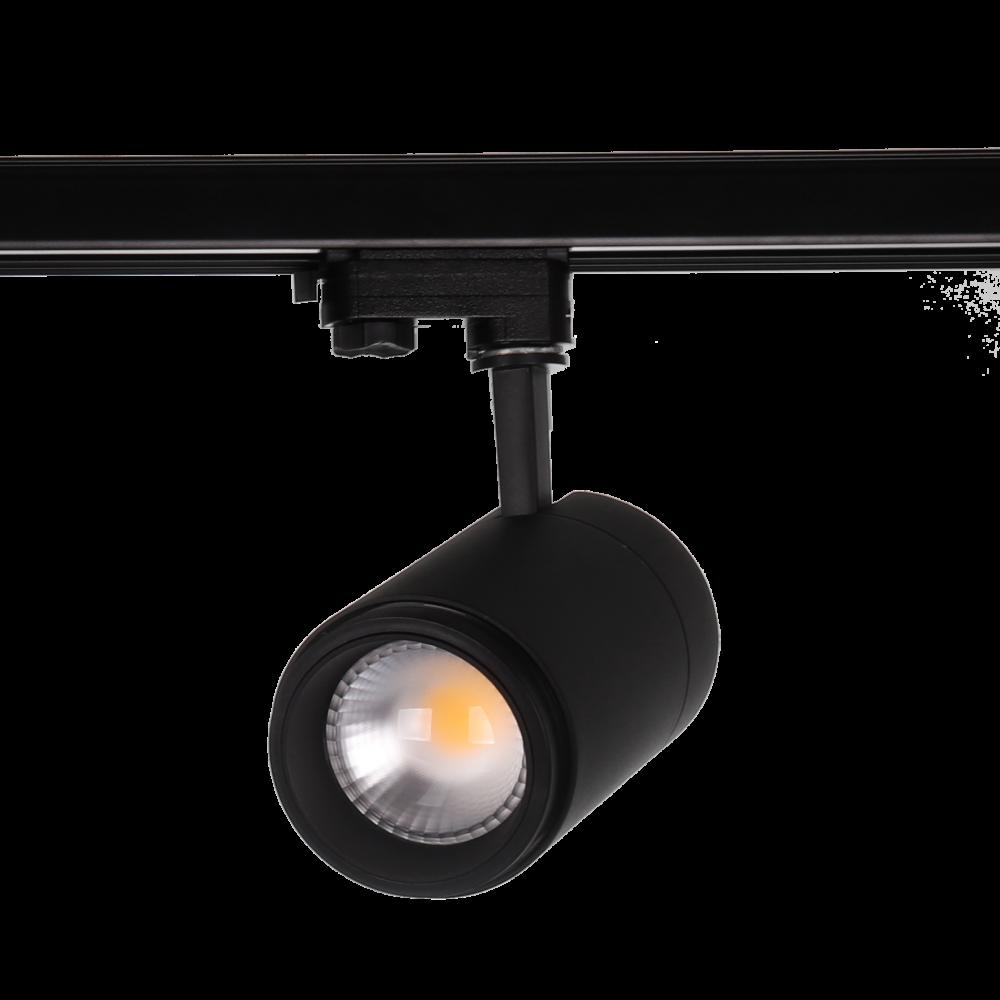 Alp easy focus, rail spot 30W-940-15-60gr-zwart