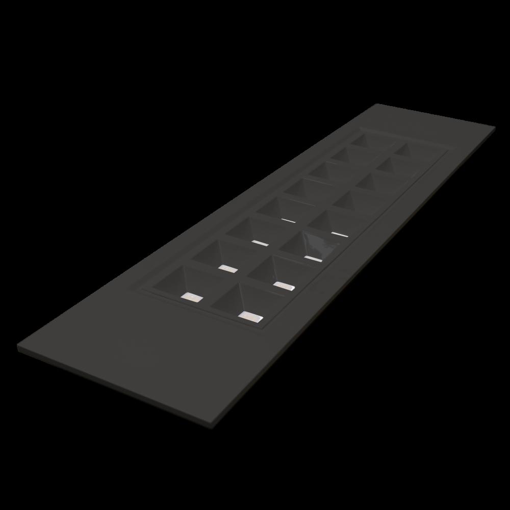 ALP UGR panel BK 27W 840 30x120 140lm/w ugr-16