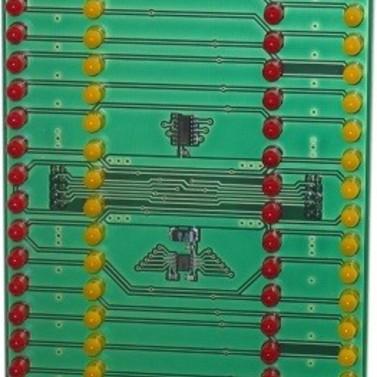 LED indicatieprint t.b.v. BMC Solution F1