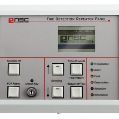 RS-485 LCD Uitleespaneel Solution F1/F2 NL versie