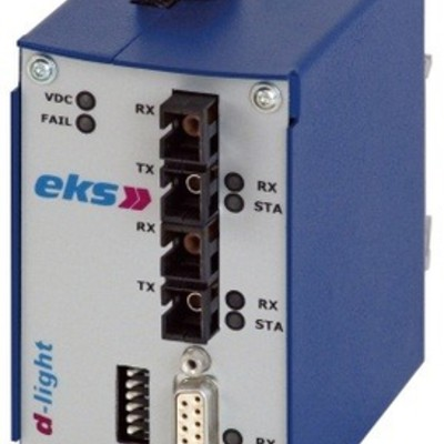 ARCNET/RS-485 LWL-Konverter DL-485RS / optisch, SINGLE-Mode