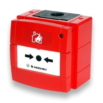 Handbrandmelder KAC geadresseerd IP 67, incl. isolator, CE 0