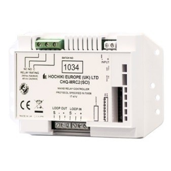 I/O module Hochiki met relais (5A/230V), bewaakte ingang en