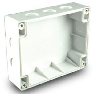 Achterbehuizing voor Hochiki modules IP65 excl. Kabelwartels