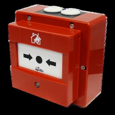 Discovery Handbrandmelder met isolator, (IP 67), rood