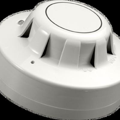Rookmelder optisch voor deurmagneetset