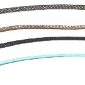 Analoge sensorkabel (zwart), voor alarmline II, met nylon ma