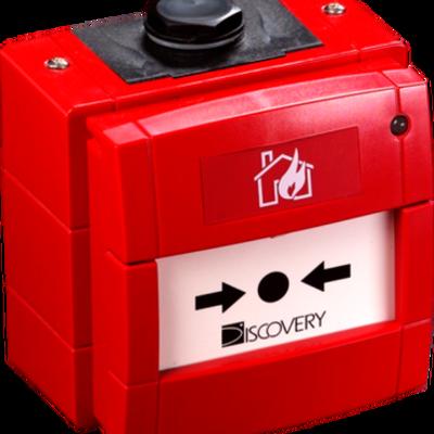 Discovery Marine Handbrandmelder rood, IP66