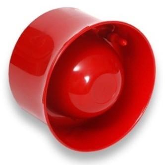 Geadresseerde Wandsirene Hochiki CHQ-WS2 (rood), max. 102 dB