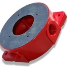 Opbouw-Montagesokkel Hochiki (rood) voor sirene B07160-00, V