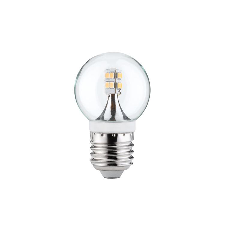 Paulmann LED kogellamp 2,5W E27 230V helder 2700K