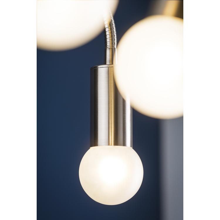 Paulmann LED globe 60 2,5W E14 230V satijn 2700K
