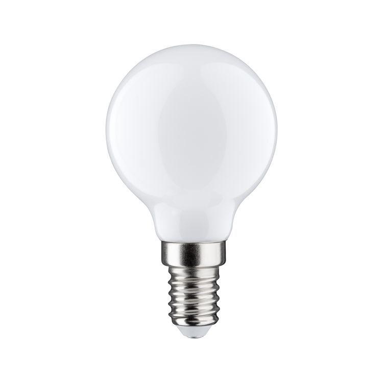 Paulmann LED kogellamp 2,5W E14 230V opaal 2700K