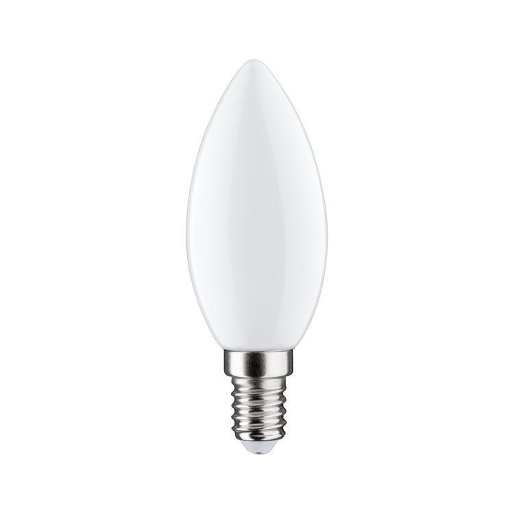 Paulmann LED kaarslamp 2,5W E14 230V opaal 2700K
