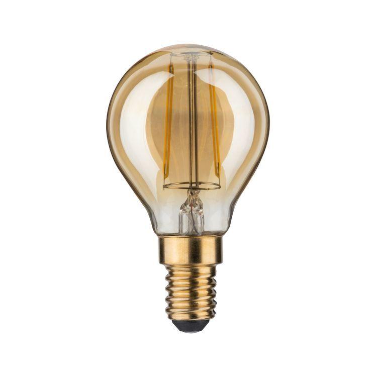 Paulmann LED kogel 2,5W E14 230V goud 2500K