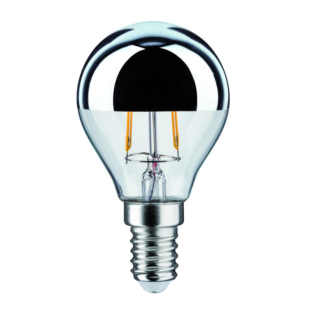 Paulmann LED kogellamp 2,5W kroonspiegel zilver
