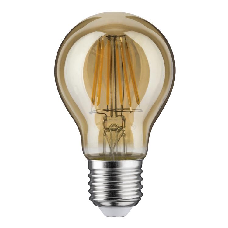 Paulmann LED AGL 7,5W E27 230V goud 2500K