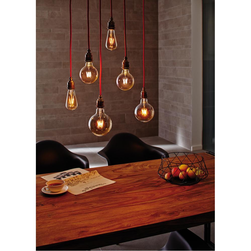 Paulmann LED Globe 125 2,5W E27 230V goud 1700K