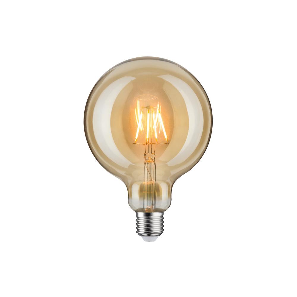 Paulmann LED Globe 125 4W E27 230V goud 1700K
