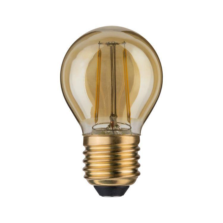 Paulmann LED kogel 2,5W E27 230V goud 2500K