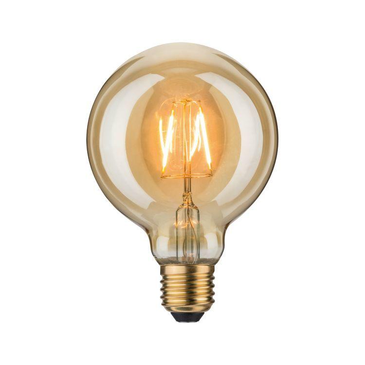Paulmann LED Globe 95 2,5W E27 230V goud 1700K
