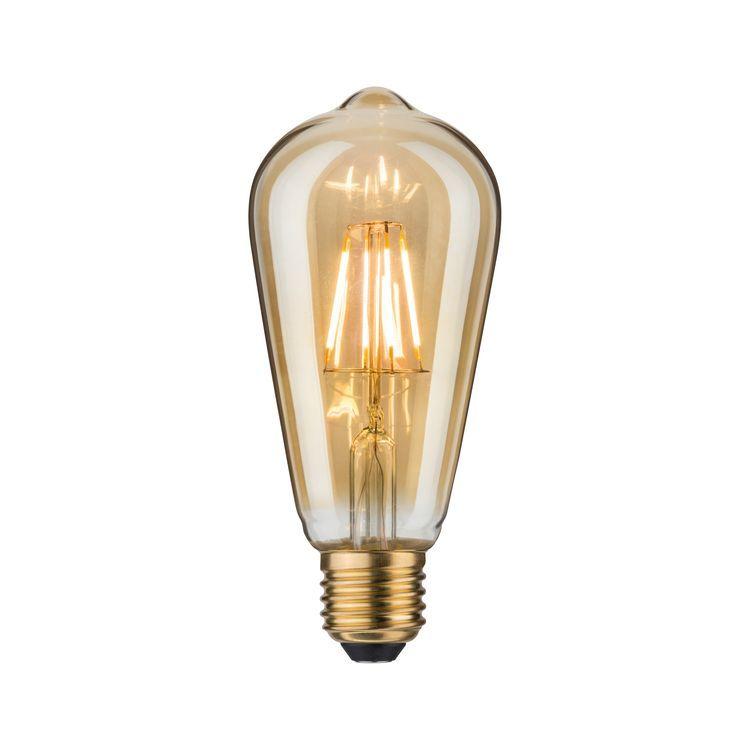 Paulmann LED Rustika (ST64) 3,5W E27 goud 2500K