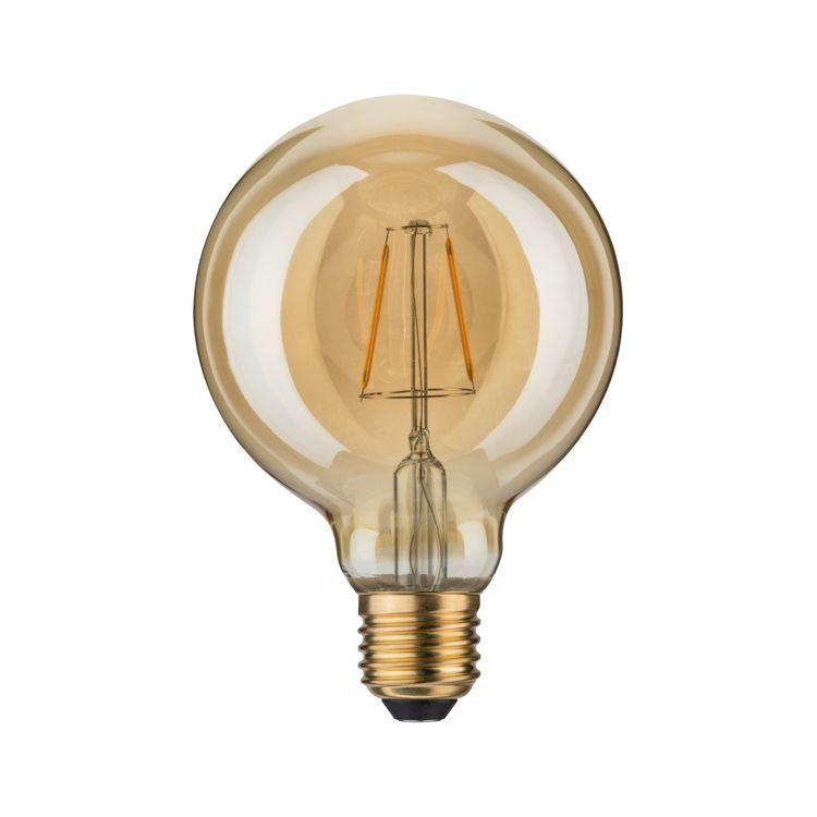 Paulmann LED vintage Globe 95 2,5W E27 goud 1700K