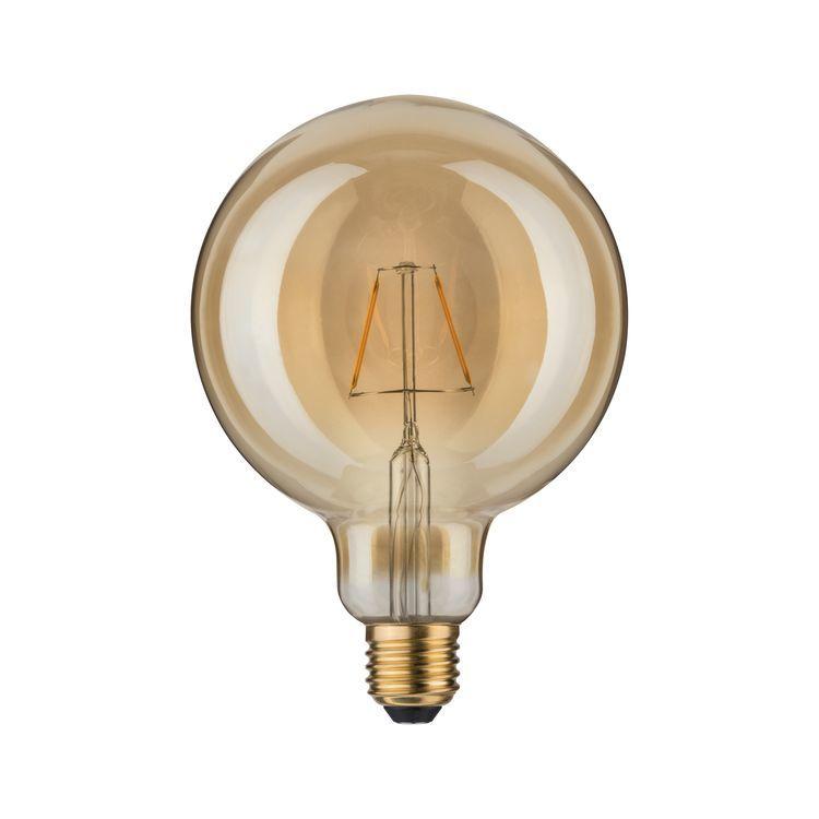 Paulmann LED vintage Globe 125 2,5W E27 goud 1700K