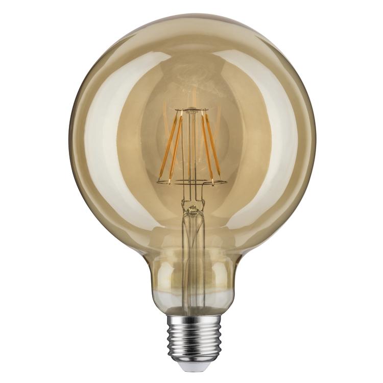 Paulmann LED vintage Globe 125 6W E27 goud 1700K