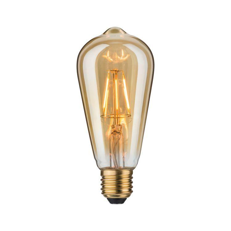 Paulmann LED vintage Rustika 4W E27 goud 1700K
