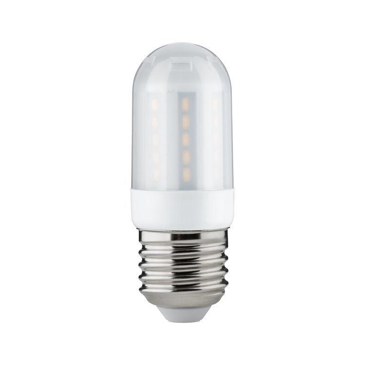 Paulmann LED kolflamp 3,5W E27 230V satijn 2700K