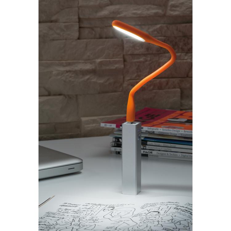 Paulmann USB-lamp TB daglichtwit 0,5W 5V oranje