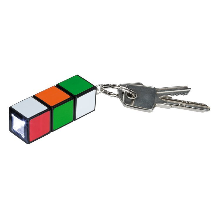 LED-batterijlamp Magic Cube multicolor
