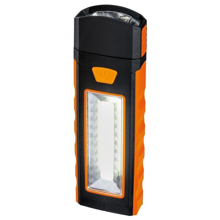 Batterijlamp Work Light oranje/zwart
