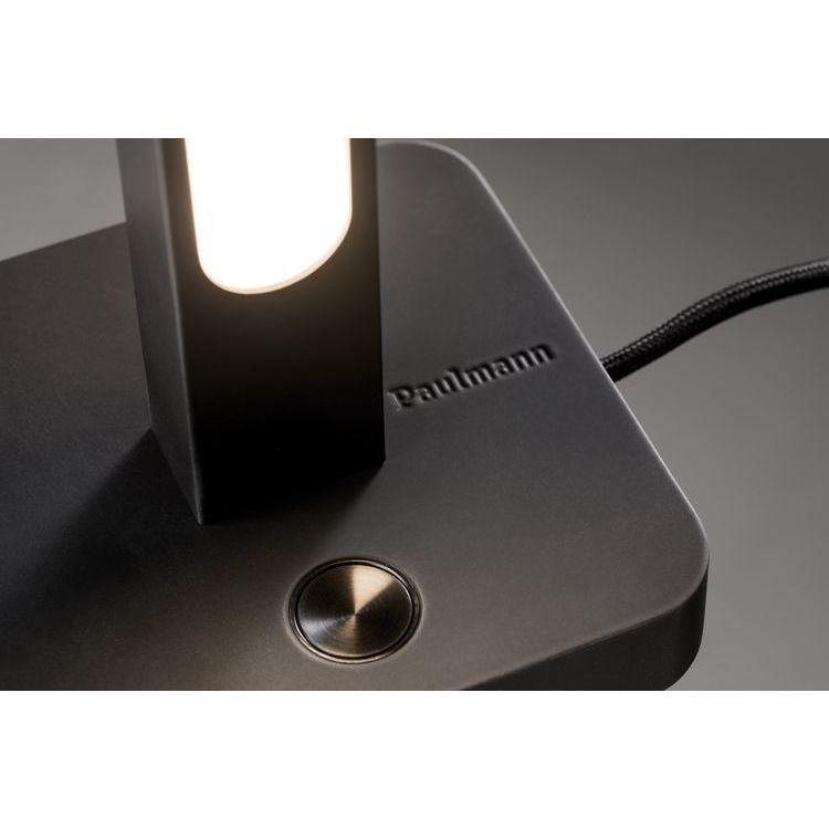 Paulmann Lento tafellamp dimbaar LED 1 x 11W zwart