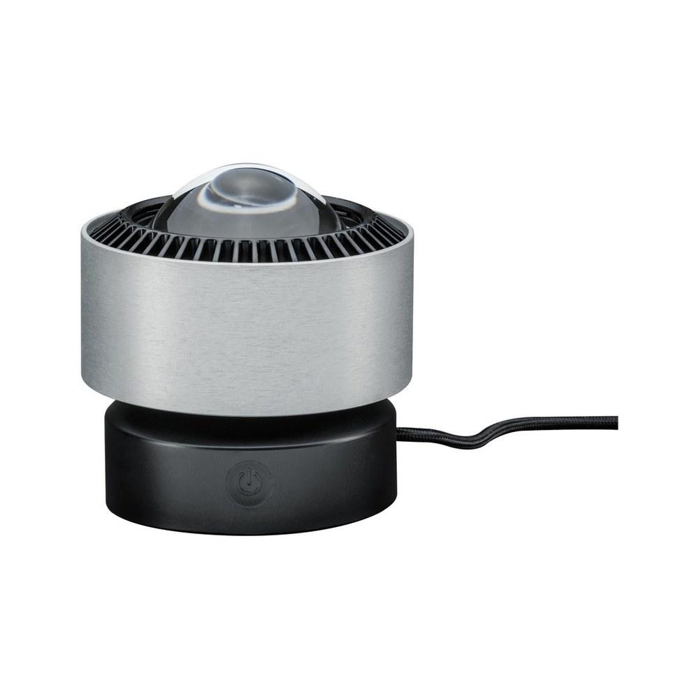 Paulmann Aldan tafellamp dim LED 1x3,5W Zwart-alu