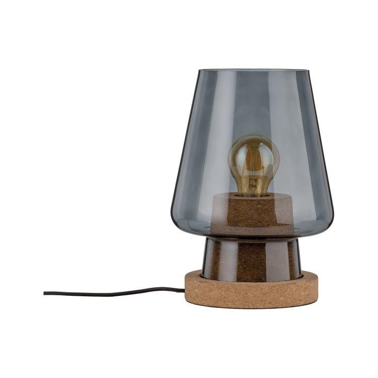 Paulmann Iben Tafellamp Rookglas