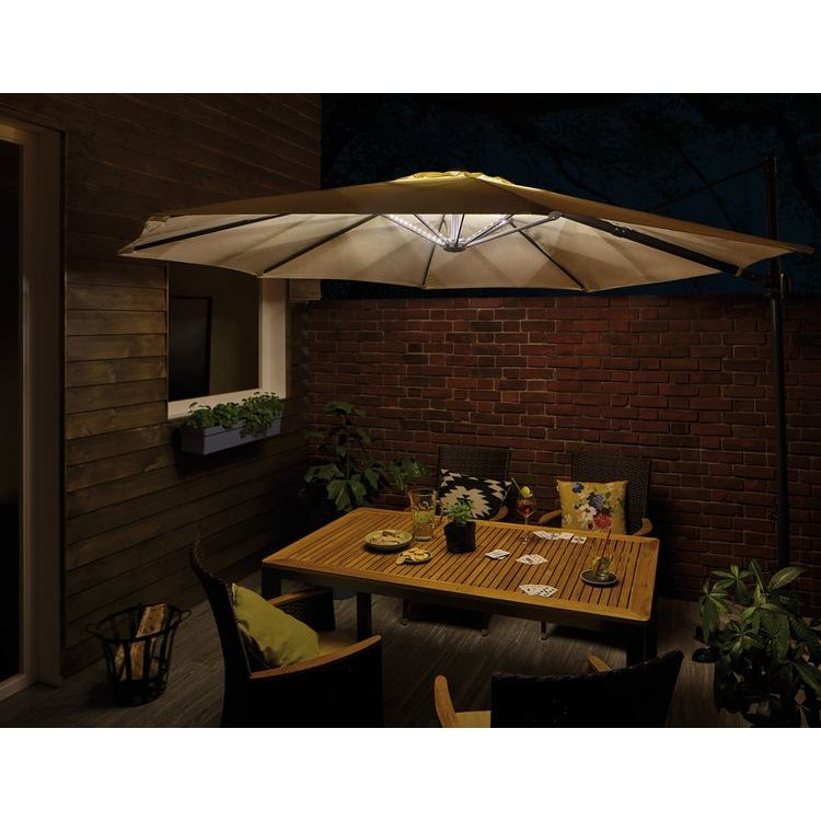 Paulmann Out Mobile Parasol verlichting IP44 3000K