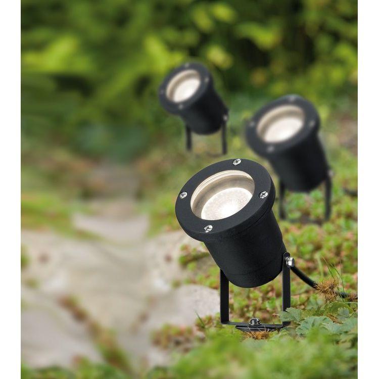 Paulmann tuin spot IP44 GU10 3x3,5W 230V zwart