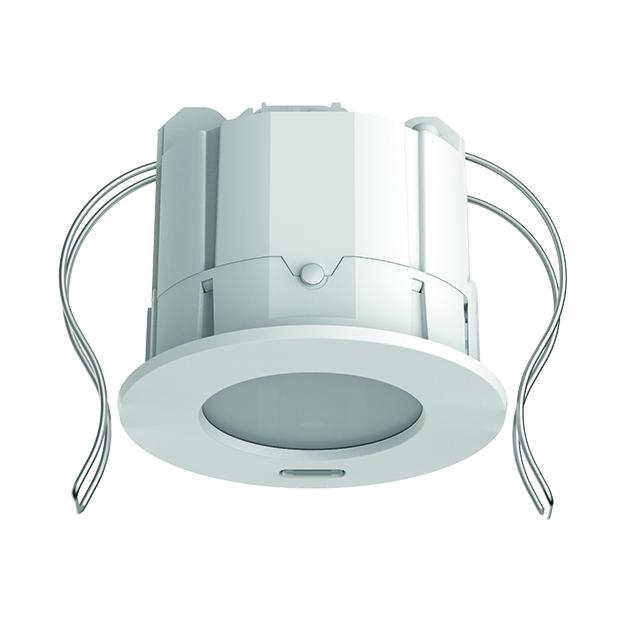 KNX aanwezigheidsmelder voor plafondinbouw, 3 x licht, 2 x HVAC, max.