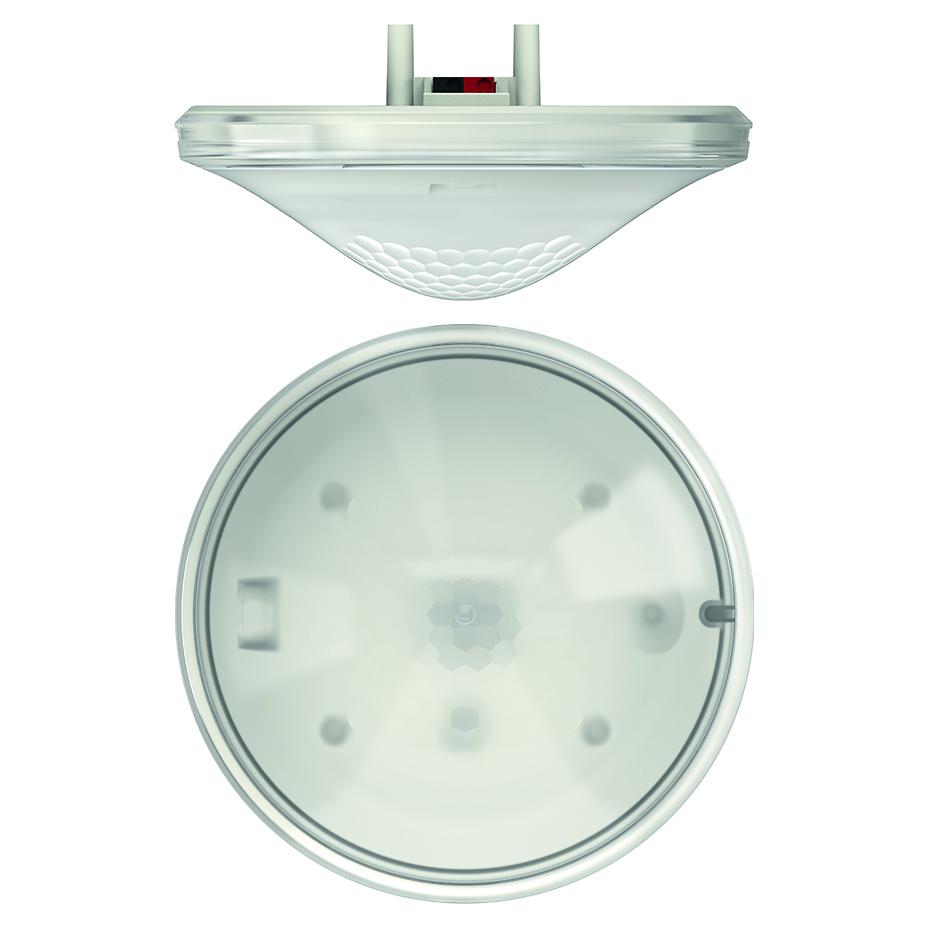 KNX aanwezigheidsmelder voor plafondinbouw, 2 x licht en 2 x HVAC, max