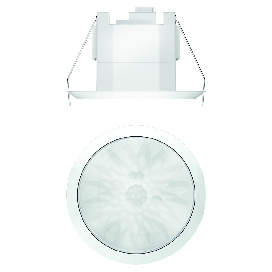 KNX-aanwezigheidsmelder voor plafondmontage, wit