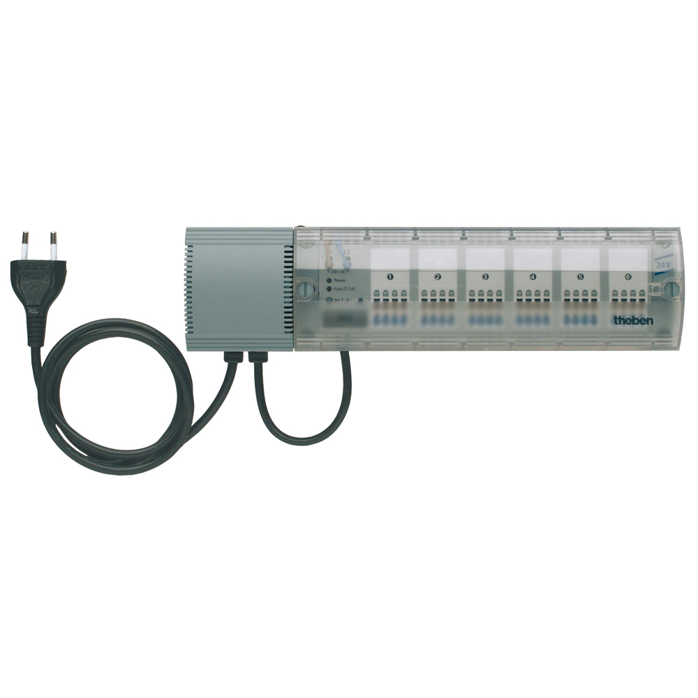 HMT 12 EIB/KNX verwarmingsactor tbv aansturing 12 thermomotoren
