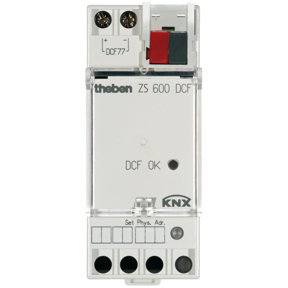 ZS 600 DCF KNX, tijdzender voor datum+tijd, optioneel via DCF antenne
